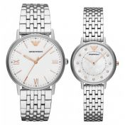 Emporio Armani Men's & Ladies Watch Gift Set - AR80014 SET